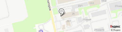ТОТАЛ ВОСТОК на карте Сургута