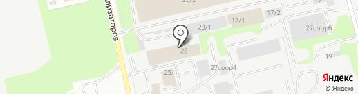 Иверс на карте Сургута