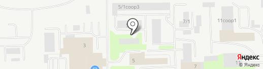 Милконс на карте Сургута