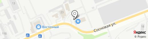 ТНК-Сургут на карте Сургута