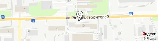 Мак на карте Сургута