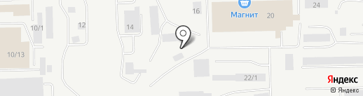 Вездеход на карте Сургута