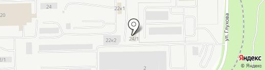 Автомобильный сервисный центр на карте Сургута