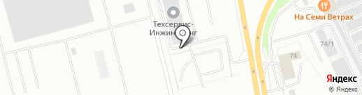 Техсервис-Инжиниринг на карте Сургута
