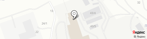 АкваБур на карте Сургута