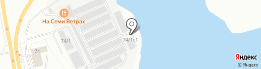 711 на карте Сургута