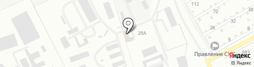 Колония-поселение №13 на карте Омска
