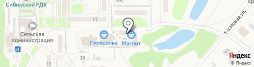 Солнечный на карте Ростовки