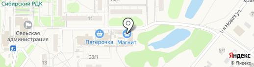 Магнит на карте Ростовки
