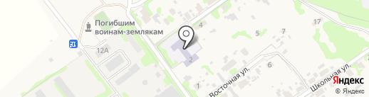 Ульяновский детский сад на карте Ульяновки