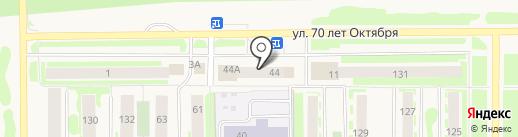 Атлант на карте Муравленко