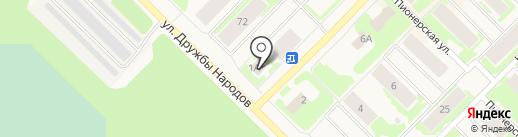 Спортландия и К на карте Муравленко