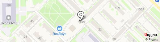 Класс Е на карте Муравленко