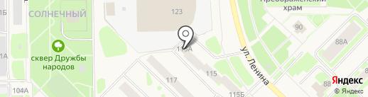 КБ КОЛЬЦО УРАЛА на карте Муравленко