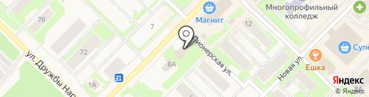 Наш город на карте Муравленко