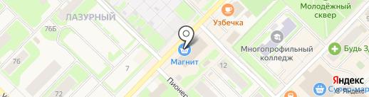 Банкомат, Газпромбанк на карте Муравленко