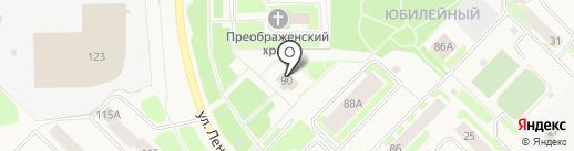 Лик на карте Муравленко
