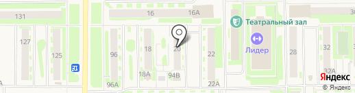 Участковый пункт полиции на карте Муравленко