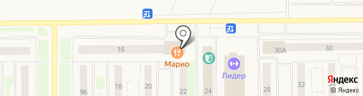Магнит на карте Муравленко