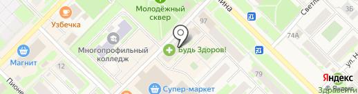 Креатив на карте Муравленко