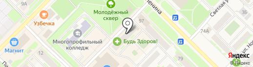 Оптика на карте Муравленко