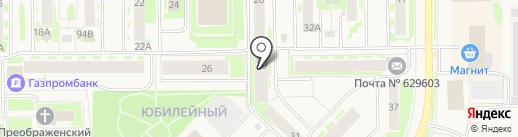 Отдел вневедомственной охраны Управления МВД России по Ямало-Ненецкому автономному округу на карте Муравленко