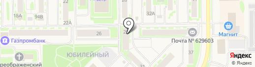 Отдел вневедомственной охраны по г. Муравленко на карте Муравленко