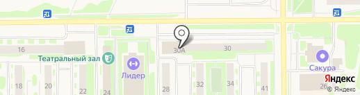 Мировые судьи г. Муравленко на карте Муравленко