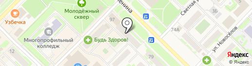 Элегия на карте Муравленко