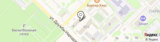 Отдел МВД по г. Муравленко на карте Муравленко