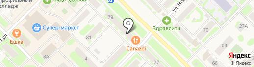 Ригла на карте Муравленко