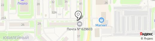 Почтовое отделение №3 на карте Муравленко
