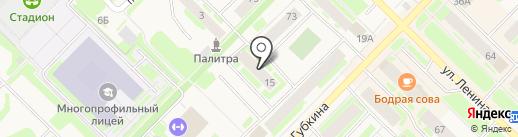 Фонд социального страхования РФ по Ямало-Ненецкому автономному округу на карте Муравленко