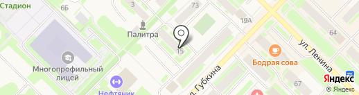 Отдел судебных приставов по г. Муравленко на карте Муравленко