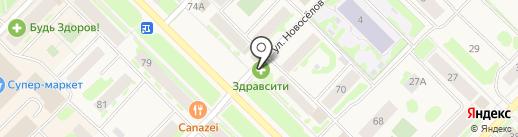 ВИЗИТ на карте Муравленко
