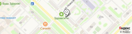 Семейная на карте Муравленко
