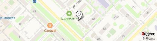 Уральский Вал на карте Муравленко