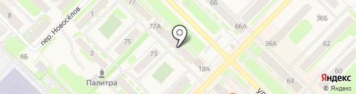 Детская мода на карте Муравленко