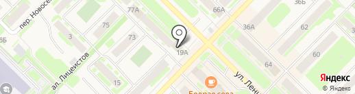 Турал на карте Муравленко