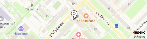 Почтовое отделение №2 на карте Муравленко