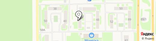 Солнечный на карте Муравленко