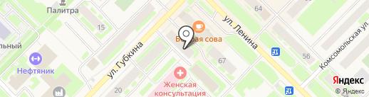 Нотариус Заборина М.Д. на карте Муравленко