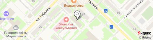 Управление образования на карте Муравленко
