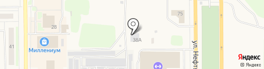 Центр систем безопасности на карте Муравленко