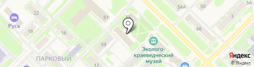 Муравленковский городской суд на карте Муравленко