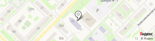 Центр технического творчества на карте Муравленко