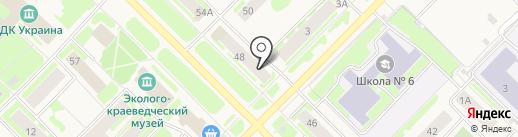 Банк ВТБ 24 на карте Муравленко