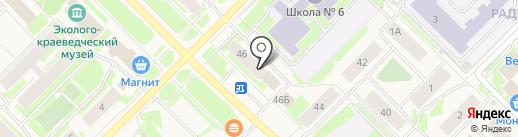 Виктория на карте Муравленко