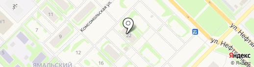 Ямал на карте Муравленко