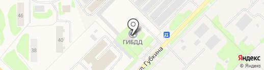 ГИБДД по г. Муравленко на карте Муравленко